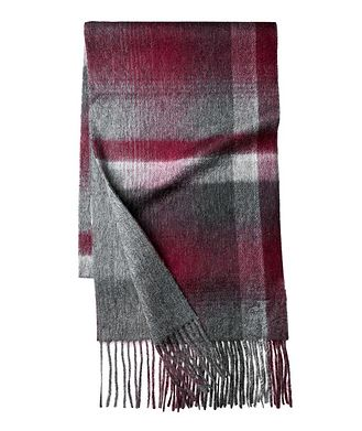 Raffi Plaid Wool-Cashmere Scarf