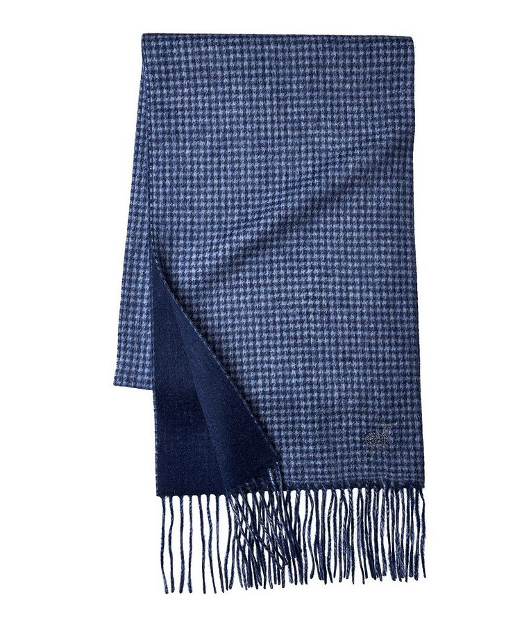 Gingham Wool-Cashmere Scarf image 0