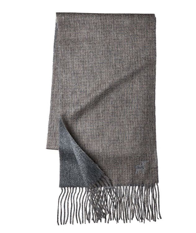 Gingham Wool-Cashmere Scarf picture 1