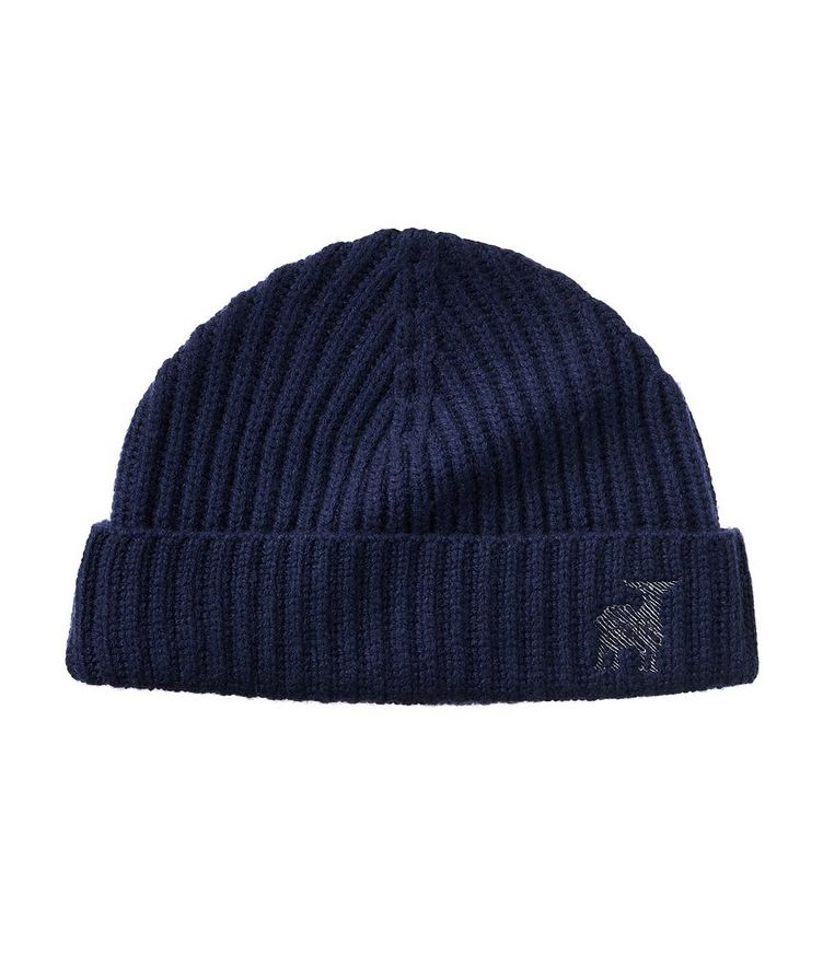 Ribbed Knit Wool-Cashmere Toque image 0