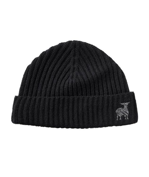Ribbed Knit Wool-Cashmere Toque picture 1
