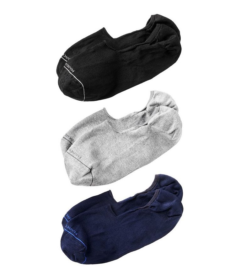 3-Pack Invisible Touch Original Socks image 0