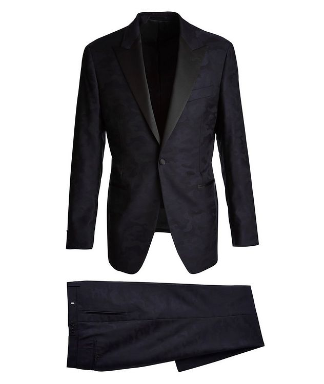 Camouflage Wool Tuxedo picture 1