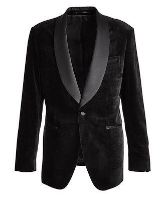 Atelier Munro Velvet Tuxedo Jacket