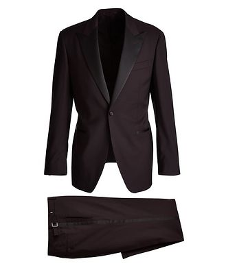 Atelier Munro Dotted Wool Tuxedo
