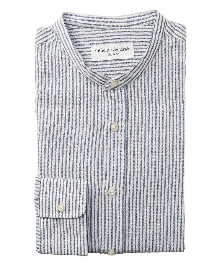 Chemise en coton à rayures image 0