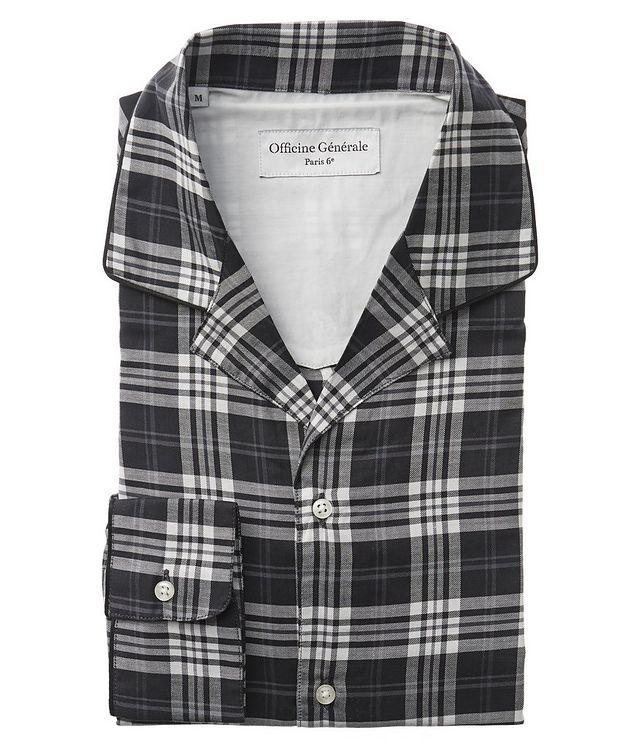 Plaid Cotton-Blend Shirt picture 1