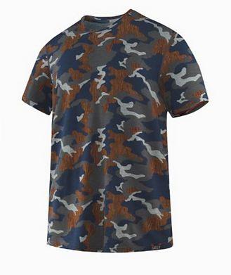 SAXX T-shirt Sleepwalker en modal extensible à motif camouflage