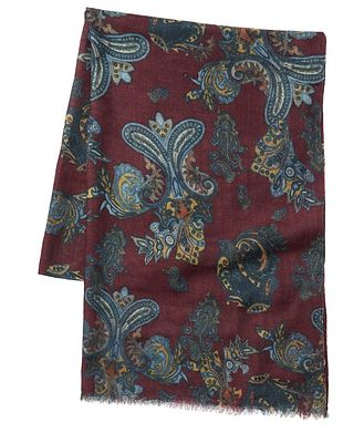 Chelsey Paisley Wool Scarf