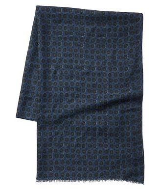 Chelsey Printed Wool Scarf