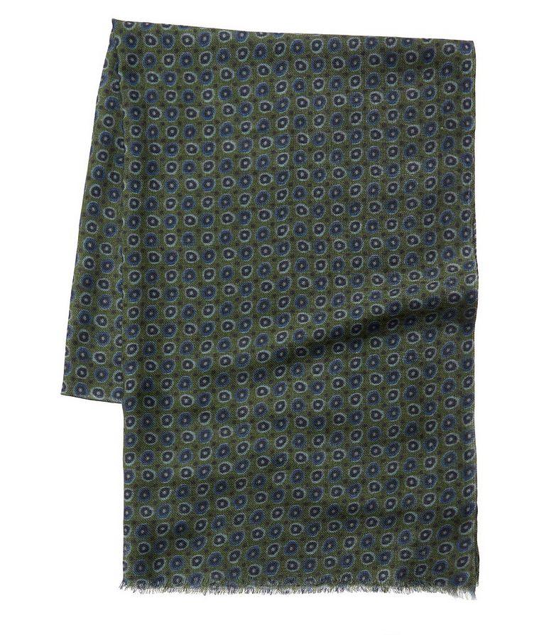 Printed Wool Scarf image 0