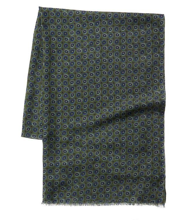 Écharpe imprimée en laine picture 1