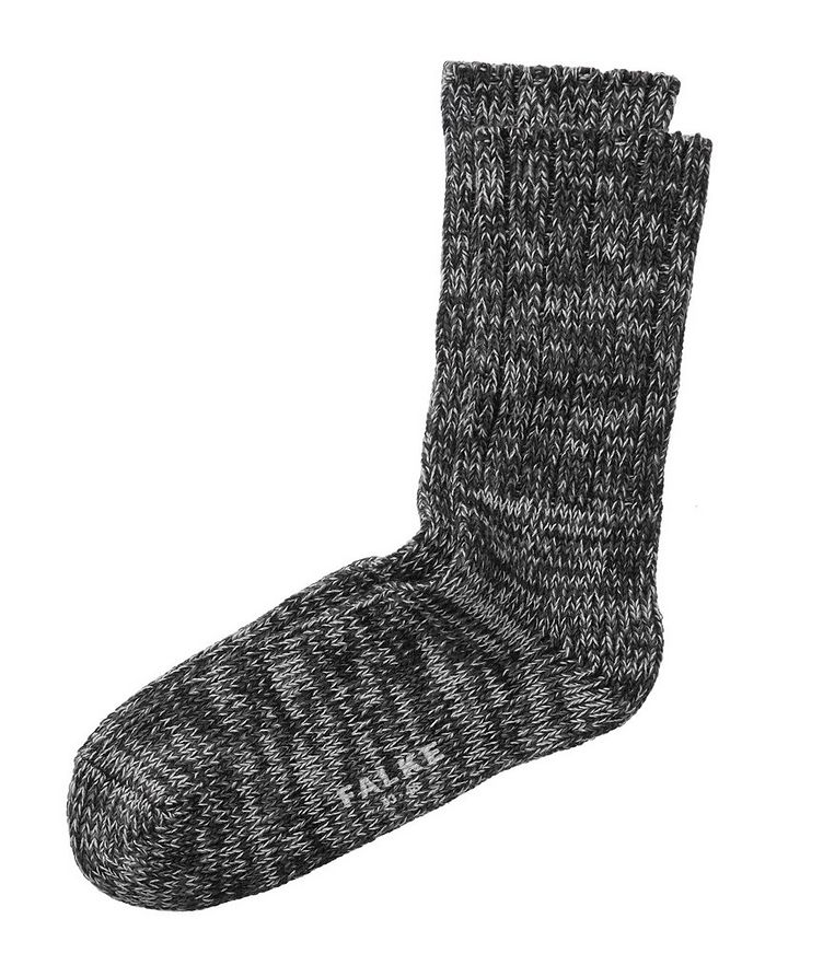 Knit Cotton Socks image 0