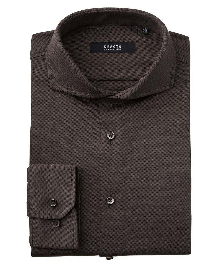 Contemporary-Fit Cotton Piqué Shirt image 0