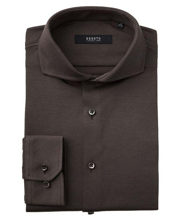 Contemporary-Fit Cotton Piqué Shirt picture 1