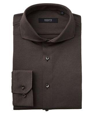 Desoto Contemporary-Fit Cotton Piqué Shirt