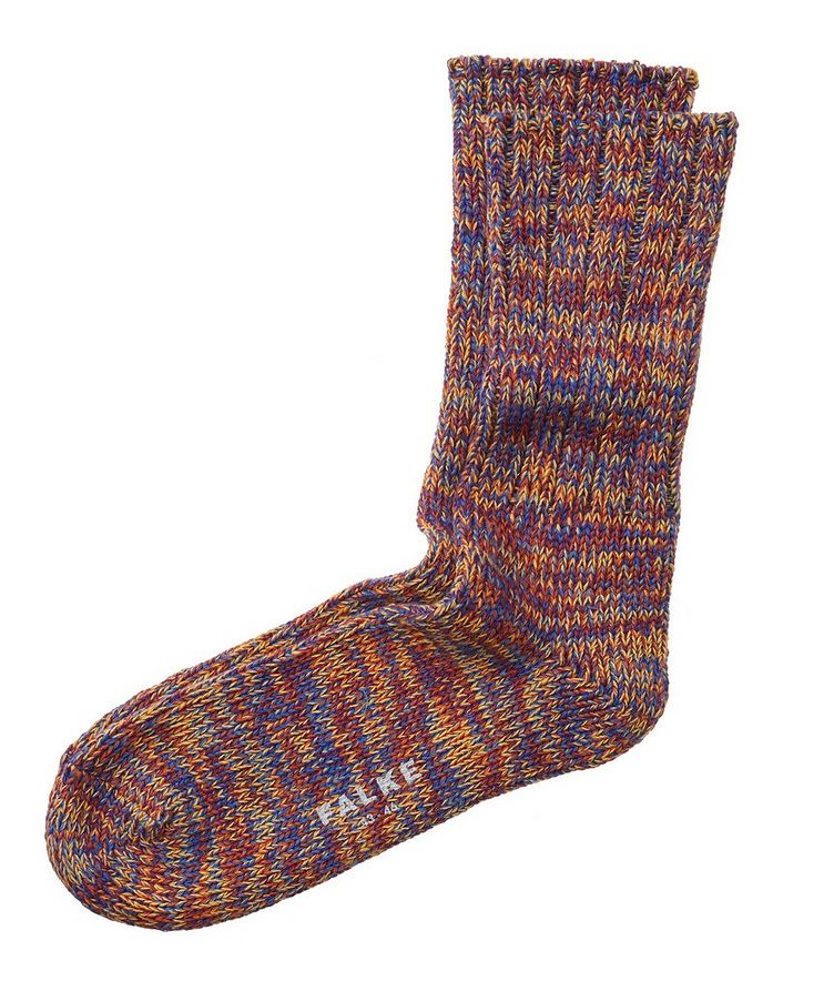 Knit Cotton Socks image 0