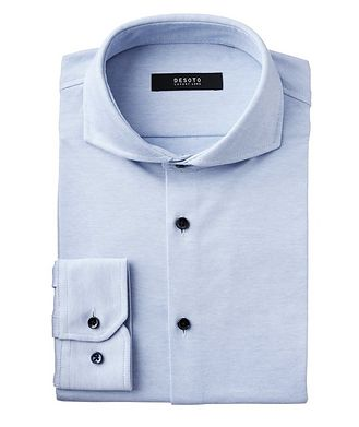 Desoto Contemporary-Fit Cotton Piqué Shirt