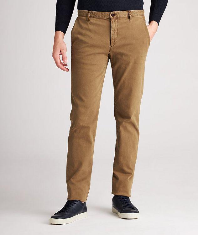 Pantalon en tissu Luxury T400 de coupe amincie picture 1