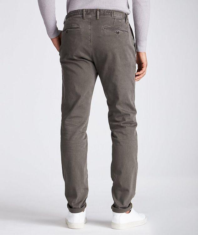 Pantalon en tissu Luxury T400 de coupe amincie picture 2