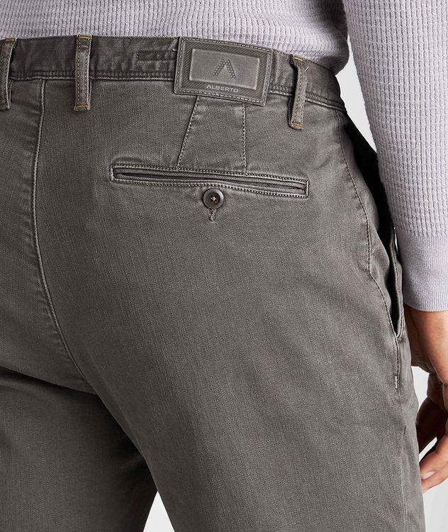 Pantalon en tissu Luxury T400 de coupe amincie picture 3