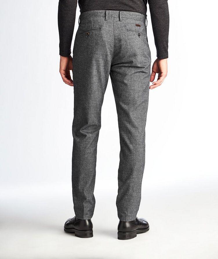 Pantalon en mélange de coton de coupe amincie image 1