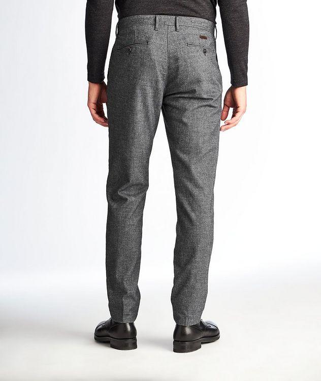 Pantalon en mélange de coton de coupe amincie picture 2