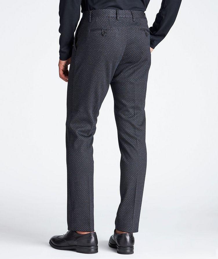 Slim Fit Wool-Cotton Dress Pants image 1