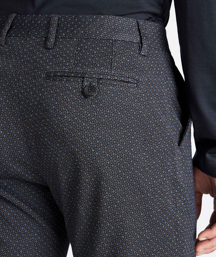 Slim Fit Wool-Cotton Dress Pants image 2