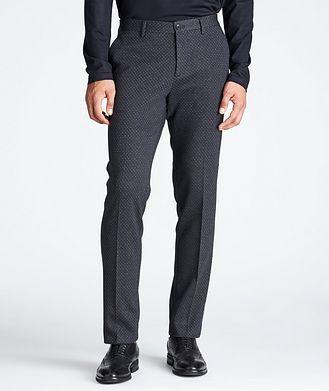 Etro Slim Fit Wool-Cotton Dress Pants