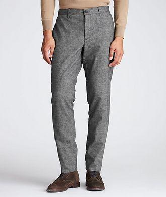 Alberto Slim Fit Stretch-Cotton Pants