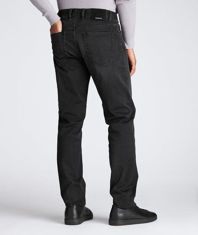 Luxury T400 Straight Fit Jeans picture 2