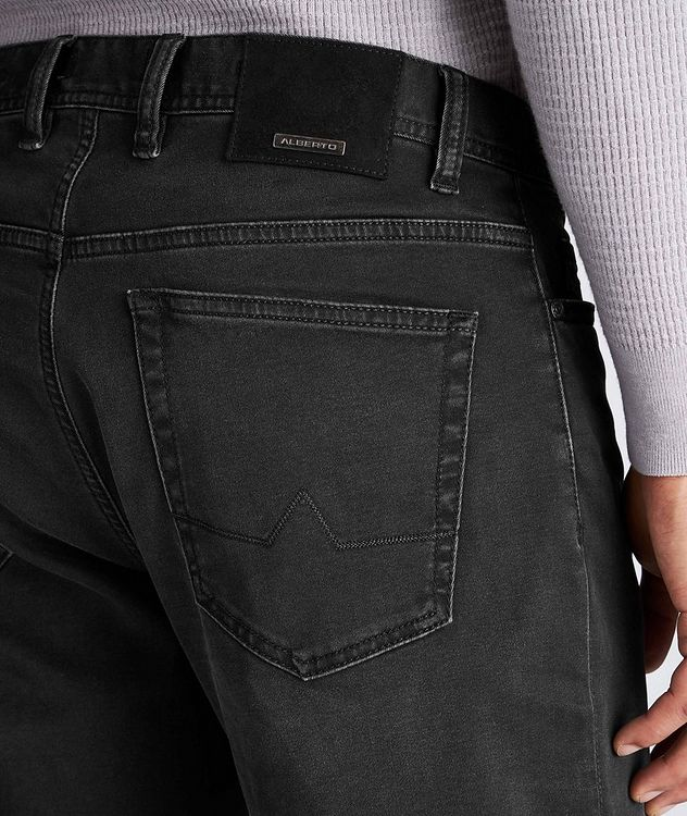 Luxury T400 Straight Fit Jeans picture 3