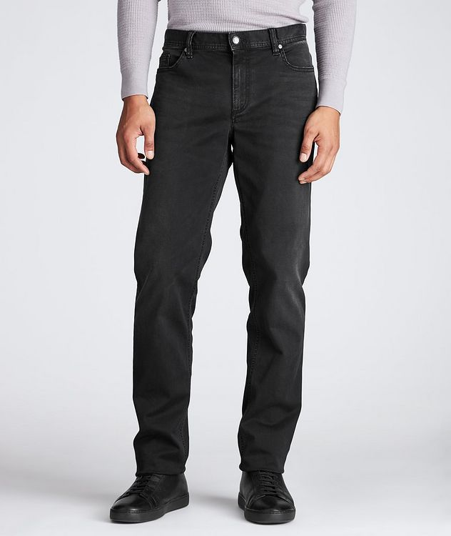 Luxury T400 Straight Fit Jeans picture 1
