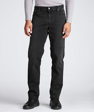 Alberto Luxury T400 Straight Fit Jeans