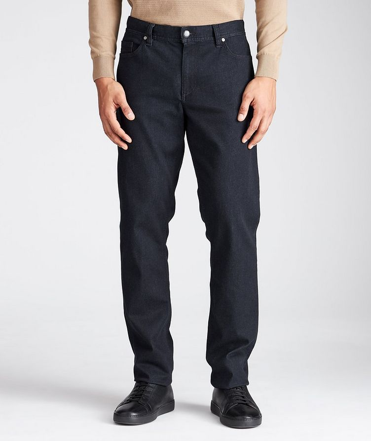 Pipe Luxury T400 Regular Fit Jeans image 0