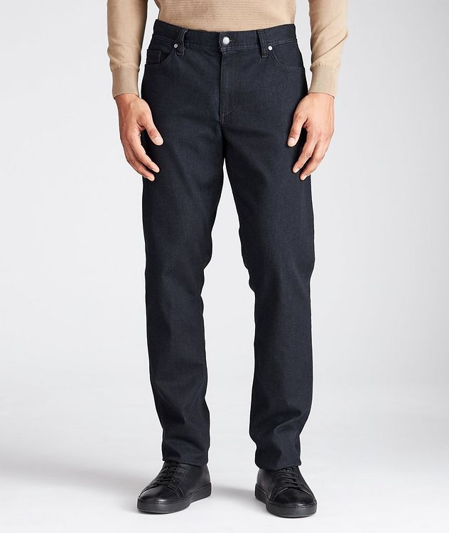 Pipe Luxury T400 Regular Fit Jeans picture 1
