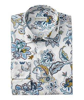 Etro Botanical Cotton Shirt