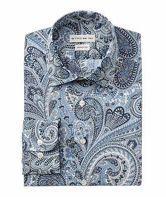 Etro Chemise en coton à motif paisley