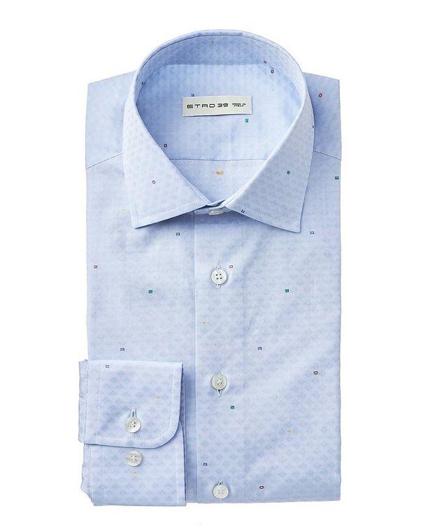 Chemise en coton à motif géométrique picture 1