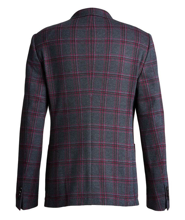 Checked Cotton-Wool Sports Jacket image 1