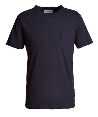 Officine Generale Japanese Space-Dyed Cotton T-Shirt