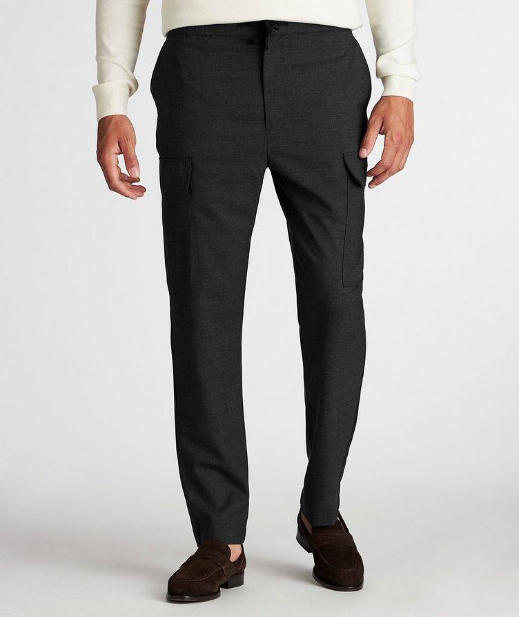 Geron Wool Cargo Pants image 1