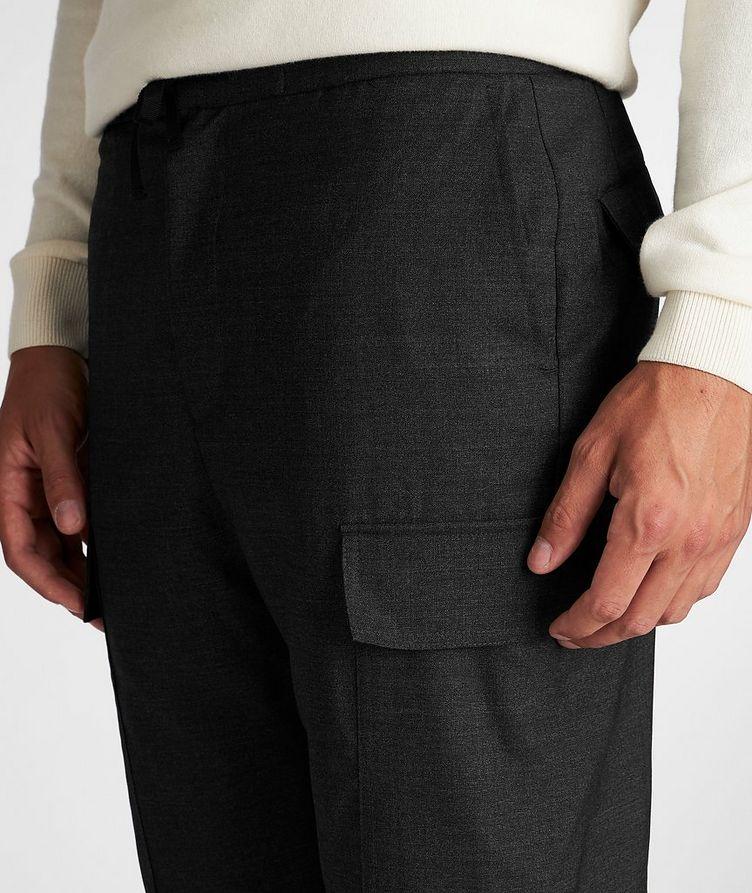 Geron Wool Cargo Pants image 3