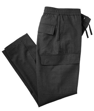 Officine Generale Geron Wool Cargo Pants