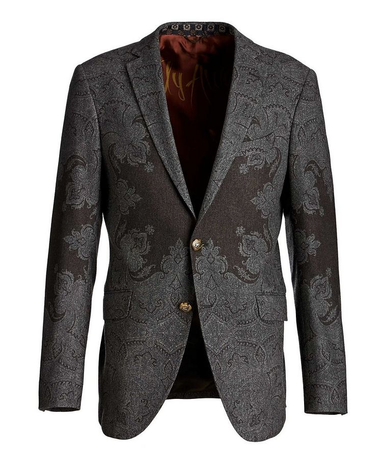 Paisley Wool-Blend Sports Jacket image 0
