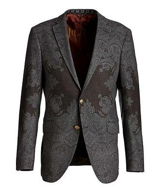 Etro Paisley Wool-Blend Sports Jacket