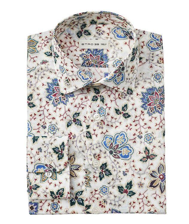 Chemise en coton à motif floral picture 1