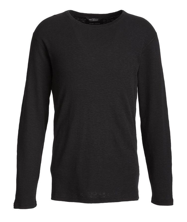 Cotton Long-Sleeve T-Shirt image 0