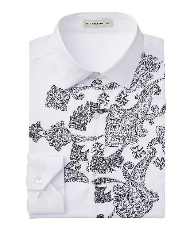 Embroidered Cotton Shirt picture 1